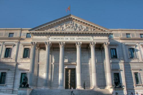 Palacio de las cortes de espa a viajes por espa a for La arquitectura en espana