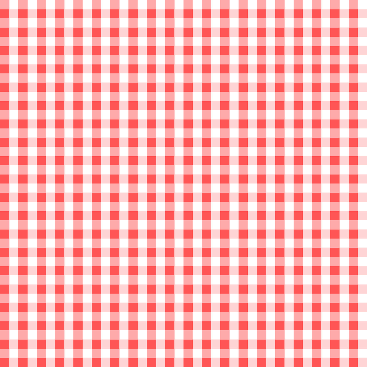 Red and white checkered paper tablecloths