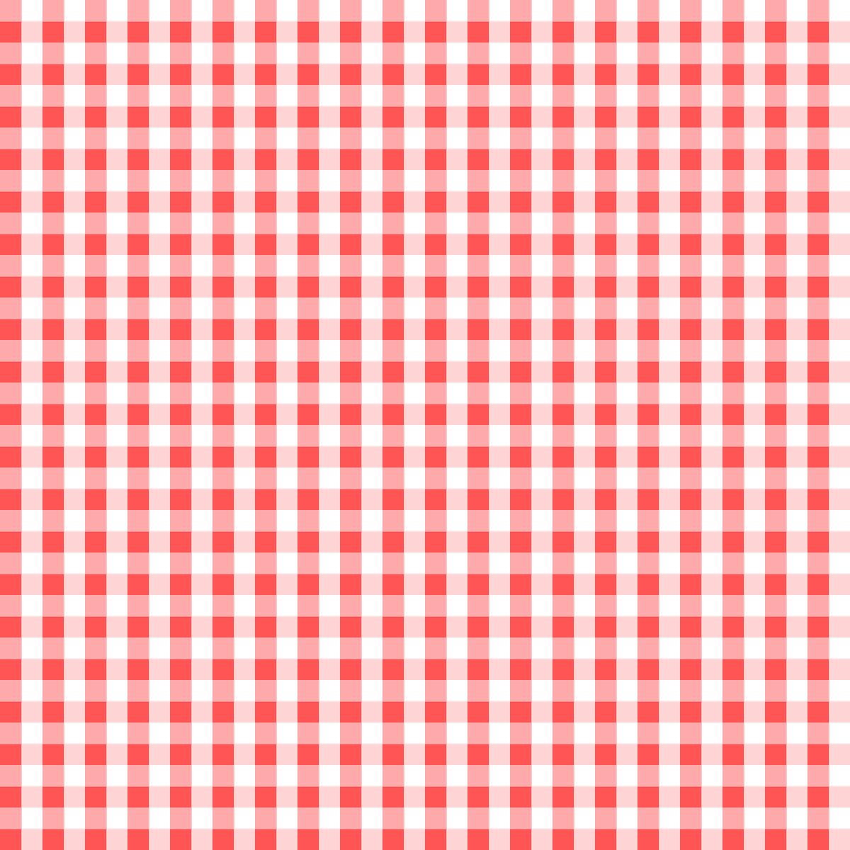 Free Digital Red White Gingham Scrapbooking Paper Ausdruckbares