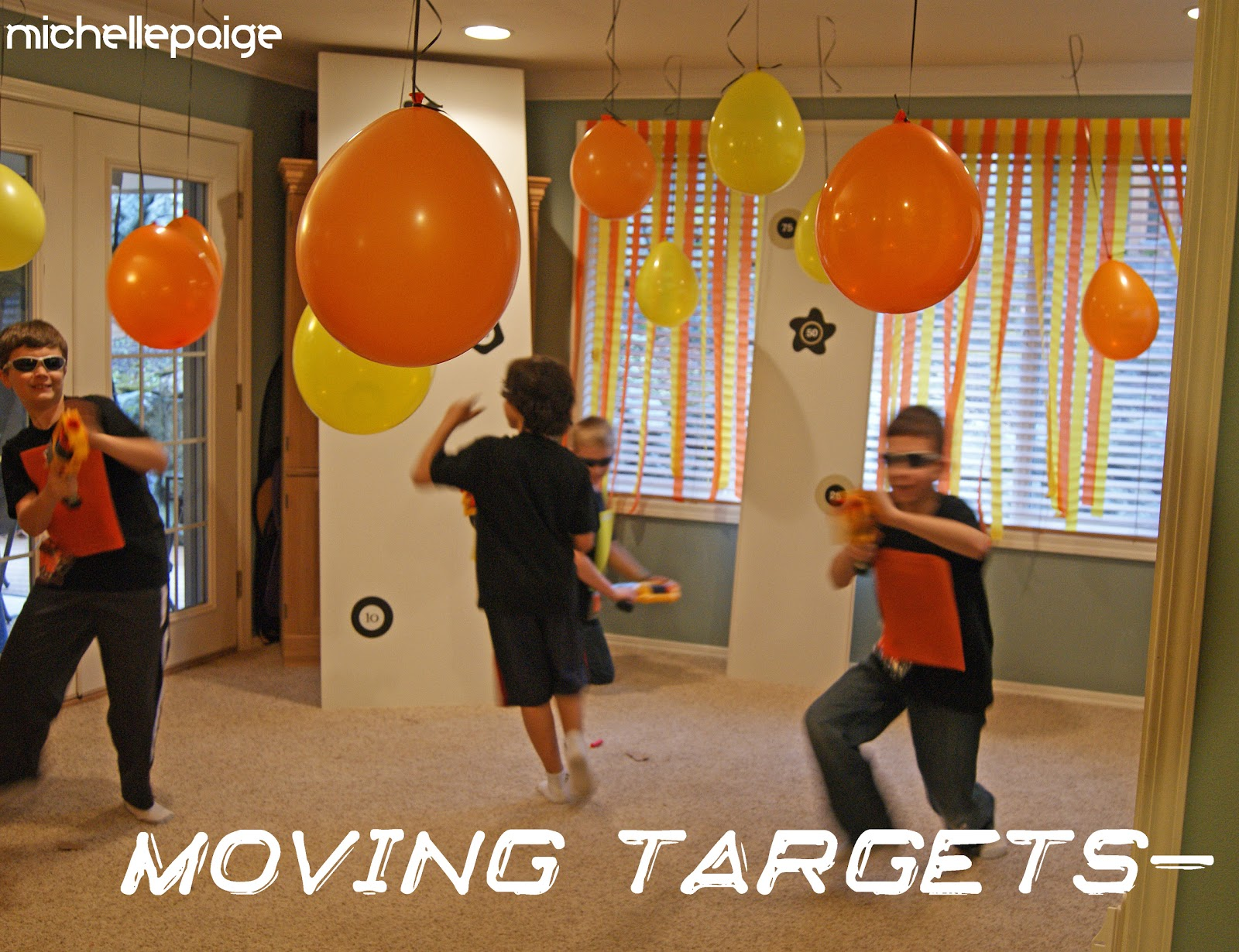Nerf Gun Party Decorations