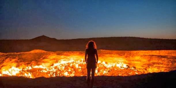 """""""La puerta del infierno"""" en pleno desierto 0001345863"""
