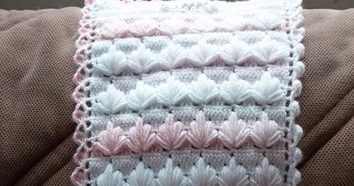 Crochet Guide Spike Cluster Stitch Pattern