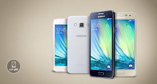 Harga HP Samsung Galaxy A3, Spesifikasi RAM 1GB Terbaru