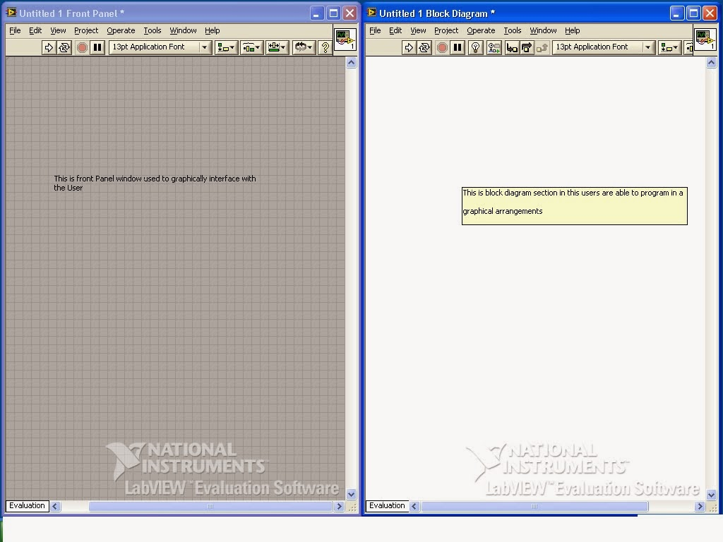 Block Diagram Panel In Labview Certified Associate Developer Program How To Start With Front And