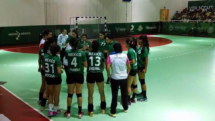 México en handball: Veracruz 2014 | Mundo Handball