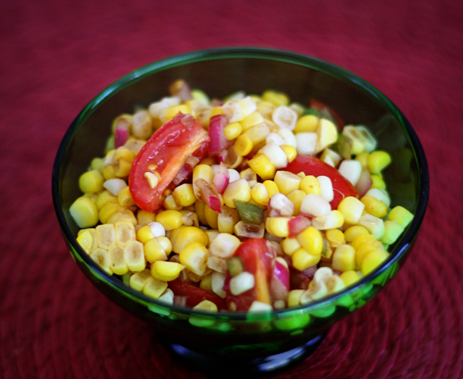 Mary, Quite Culinary: Sweet Corn Salad