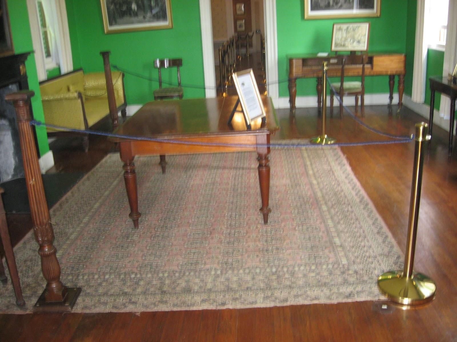Longwood House: Billiard Room Sans Billiard Table