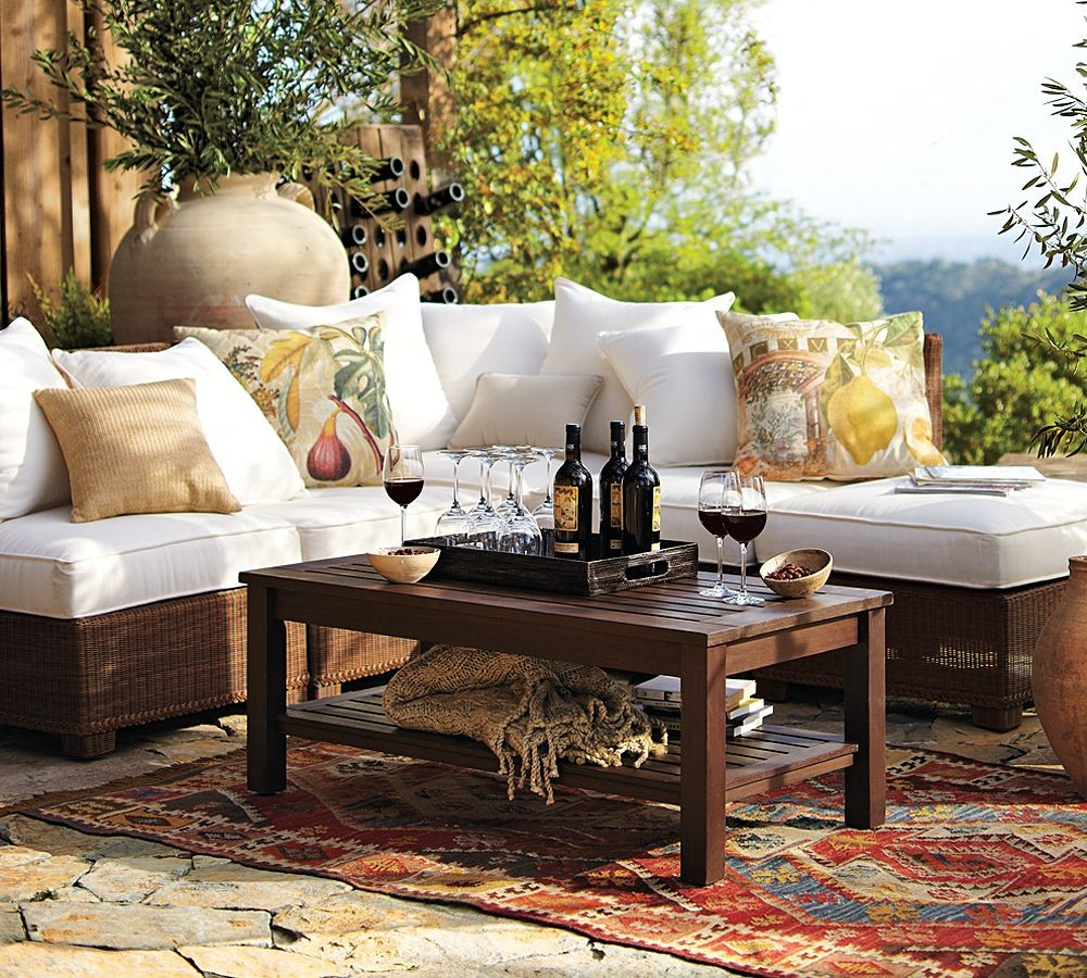 ... Their Surroundings And The People That Use Them, While Not Sacrificing  Style. Here We Have Added Some Images Pottery Barn Outdoor Garden Furniture.