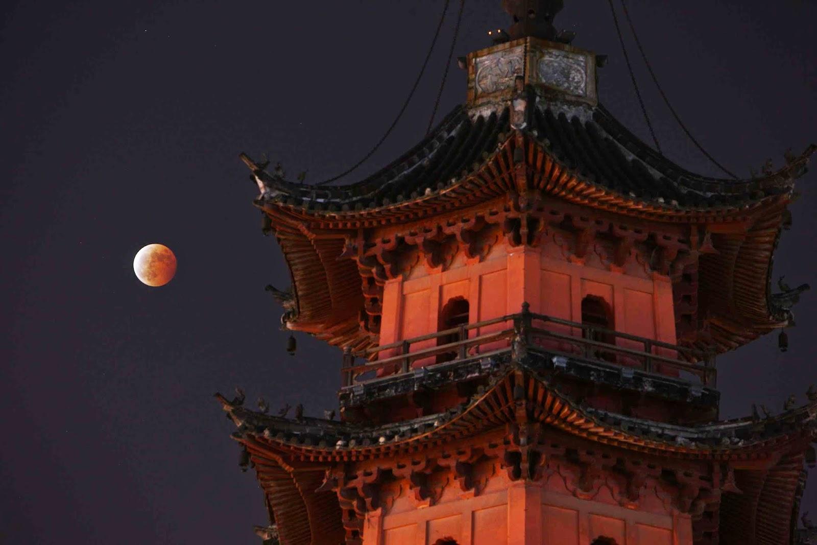 Koleksi Gambar Gerhana Bulan Penuh