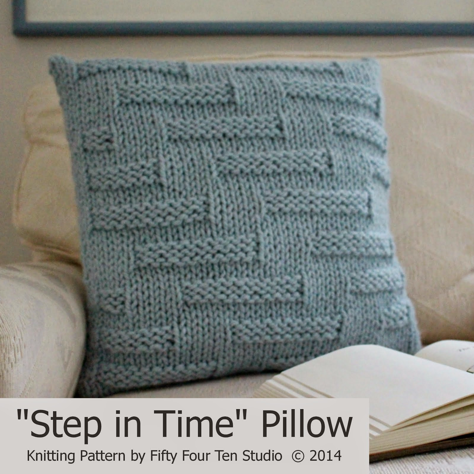 """Step in Time"" Pillow"