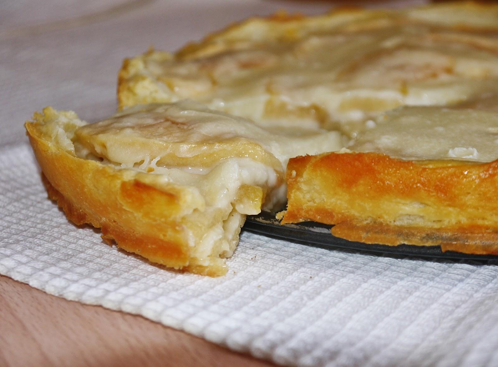 Пирог в сметанной заливке рецепт с фото
