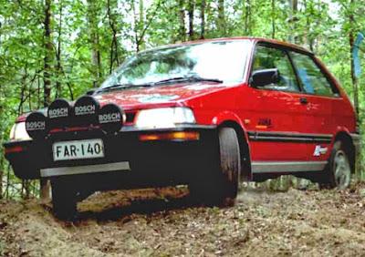 Subaru Justy. Subaru SVX punto es