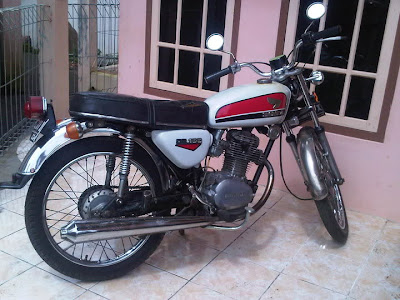 1973 Honda CB 100 Gelatik   For Sale  Original    Classic and