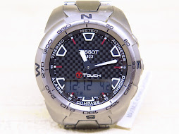 TISSOT T TOUCH EXPERT - TITANIUM CASE AND BRACELET