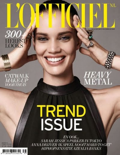 L'Officiel Netherlands august 2012 cover