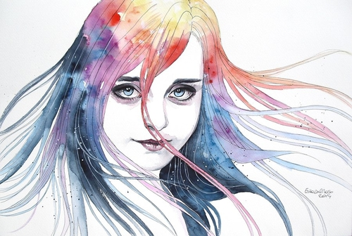 08-Changing-Colors-Erica-Dal-Maso-Expressing-Emotions-Through-Watercolor-Paintings-www-designstack-co