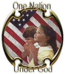 One Nation Under God Children Praying