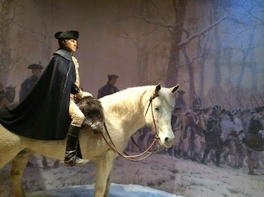 Chuck and Lori's Travel Blog - George Washington And His Horse, Nelson