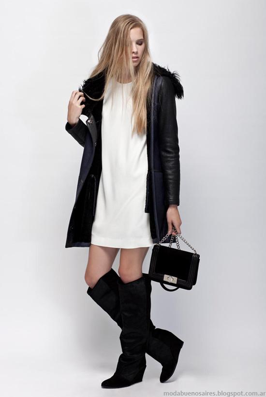 Tapados, camperas, zapatos, carteras moda invierno 2013 Prune.