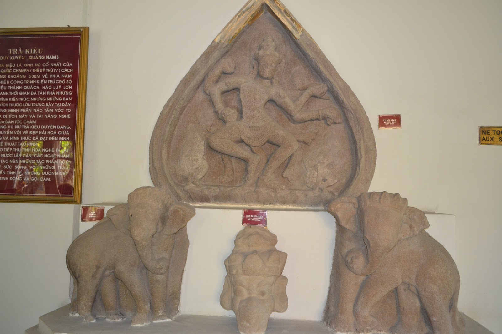 Goddess laxmi in cham museum ,Danang