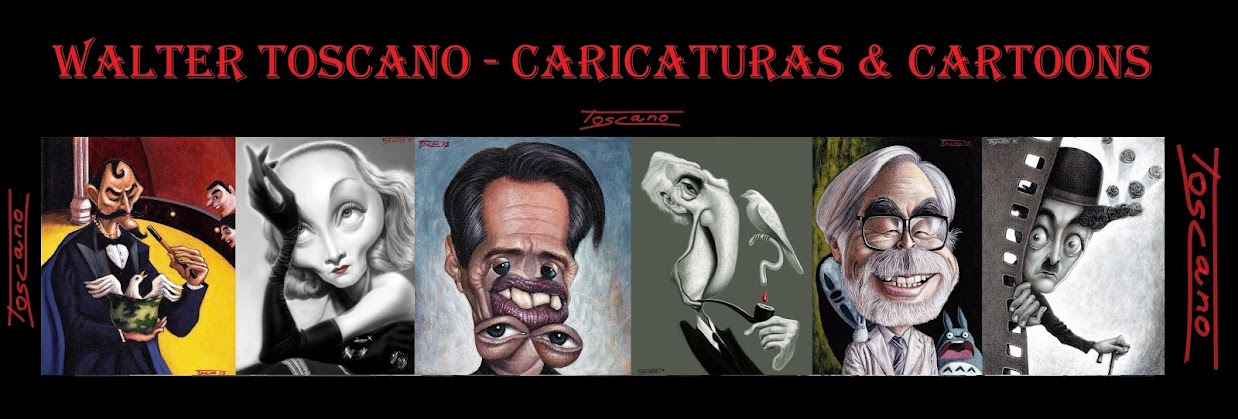 TOSCANO CARICATURAS & CARTOONS
