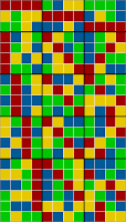 21x12 grid coloring - sorted solution 1