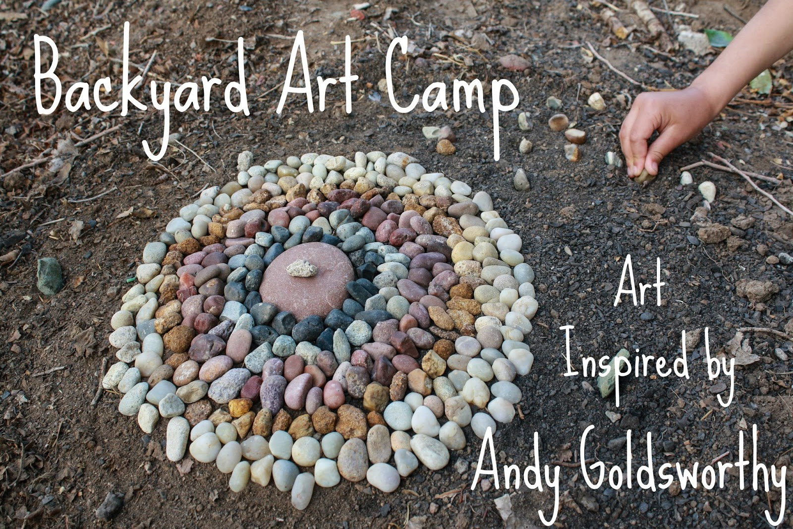 simple things notebook backyard art camp andy goldsworthy