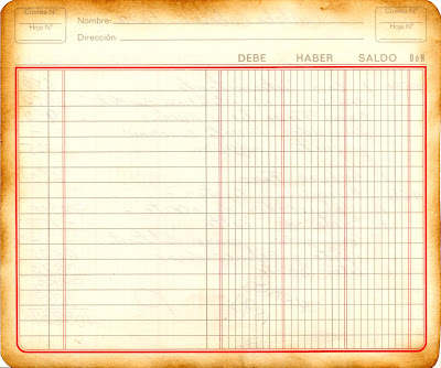 fondo vintage con cuaderno viejo para scrapbooking