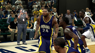 NBA 2K13 Indiana Pacers HD Jersey Mods