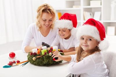 Las mejores manualidades navideñas para hacer con tus hijos (II)