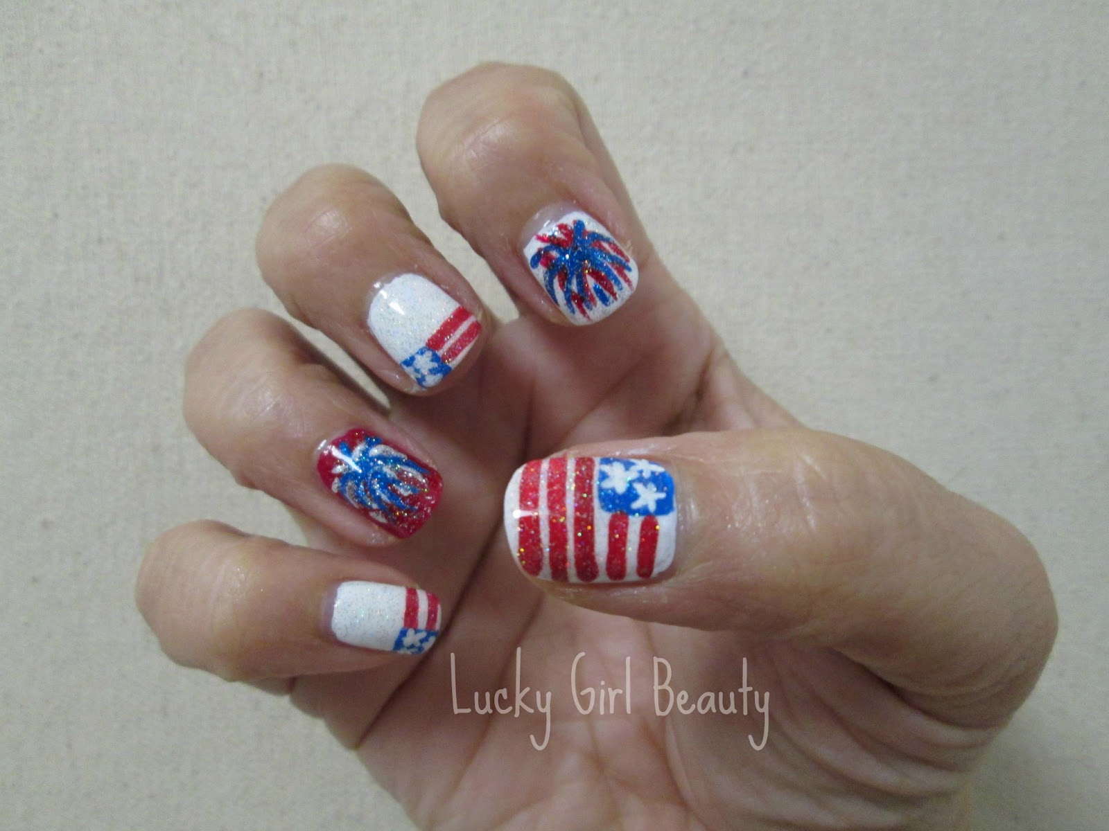 Fourth of July Nails HD Wallpaper