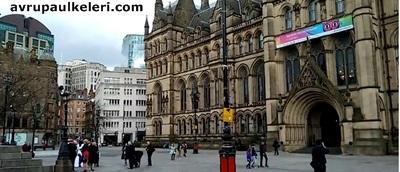 Manchester Belediye Binası İngiltere