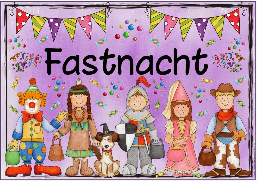 Ideenreise themenplakat fastnacht - Bastelideen zu karneval ...