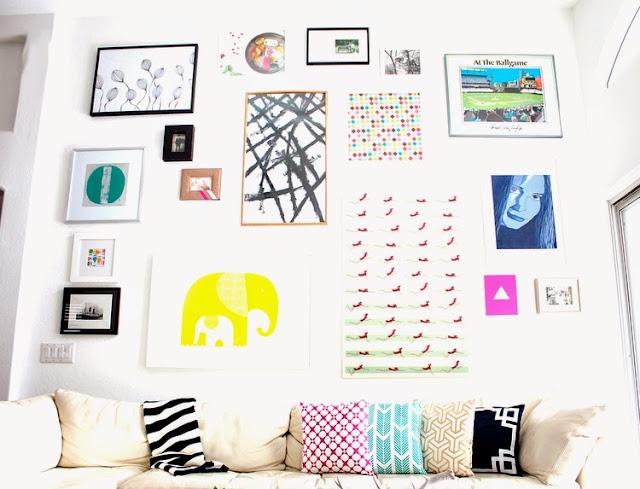 Makers + Shakers: Meet Kristi Murphy; gallery wall