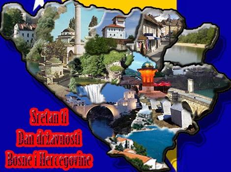 čestitka za dan državnosti Bosne i Hercegovine
