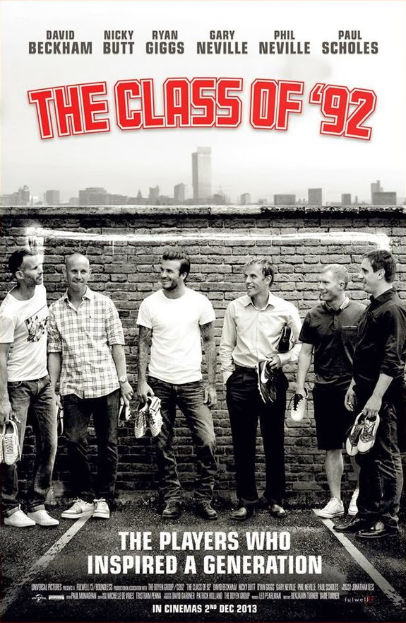 The film 'The Class of 92' is sure to be on the Christmas wish-list of many Manchester United fans