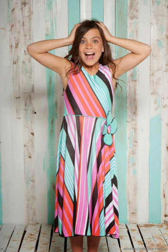 moda infantil en vestidos anacleta verano 2014