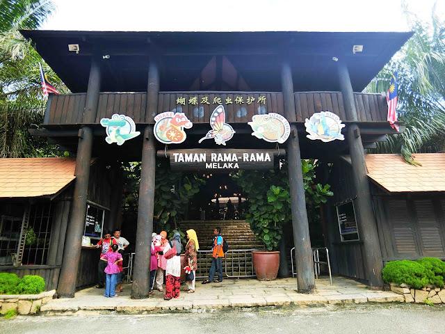 Percutian Di Taman Rama-Rama Melaka