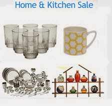 Buy Storage, Decor, Kitchen & Dinning upto 70% off + 20% off from Rs. 28 only