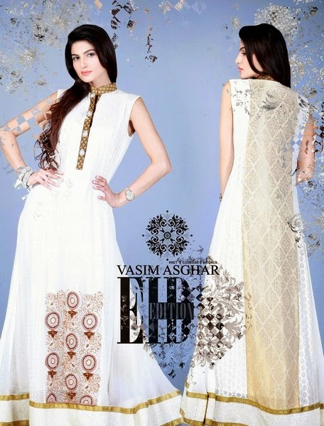 Vasim Asghar Eid Dress Collection 2014