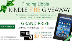 Finding Libbie Kindle Fire Giveaway!