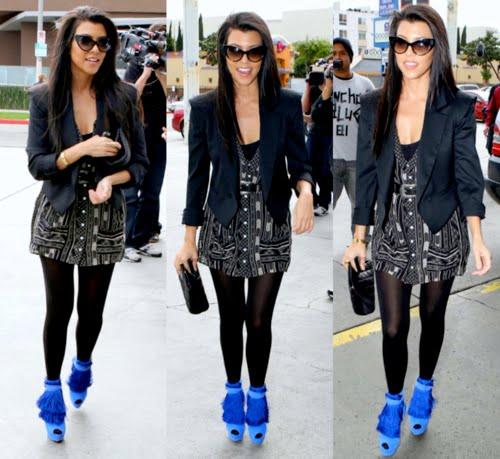 mens spiked sneakers - Kourtney Blues | PLuSH Paparazzi