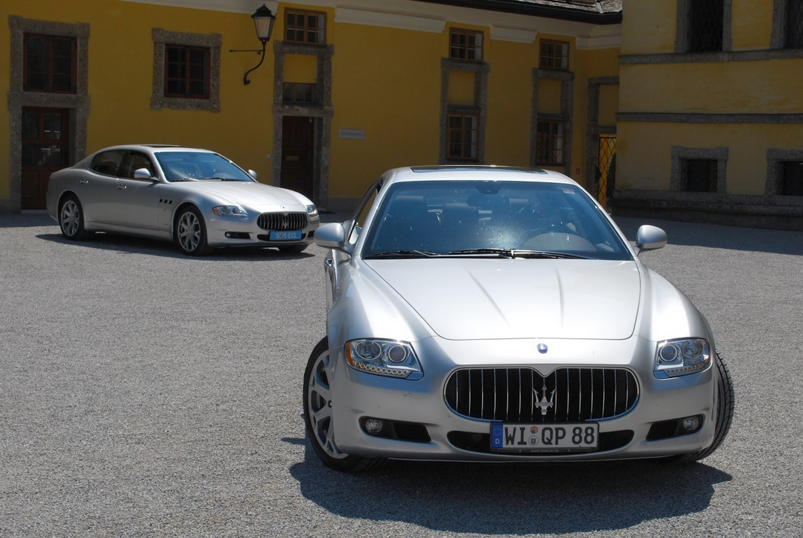 All bout cars maserati quattroporte the executive gt version of the quattroporte was introduced at the north american international auto show in january 2006 sciox Choice Image
