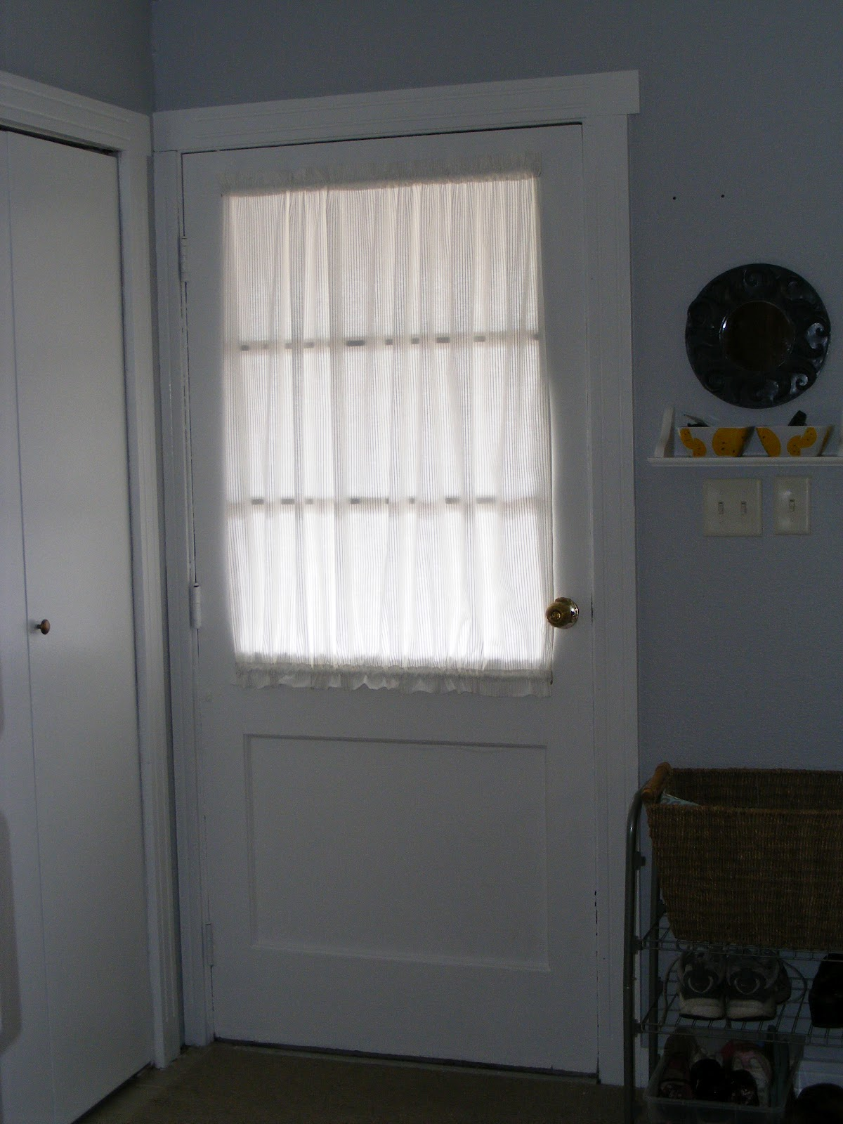 Door curtain for Front door window curtains