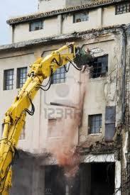 Que significa soñar con demoler edificio