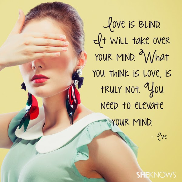 Love Quotes - Love is Blind