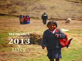 Memoria Actividades 2013