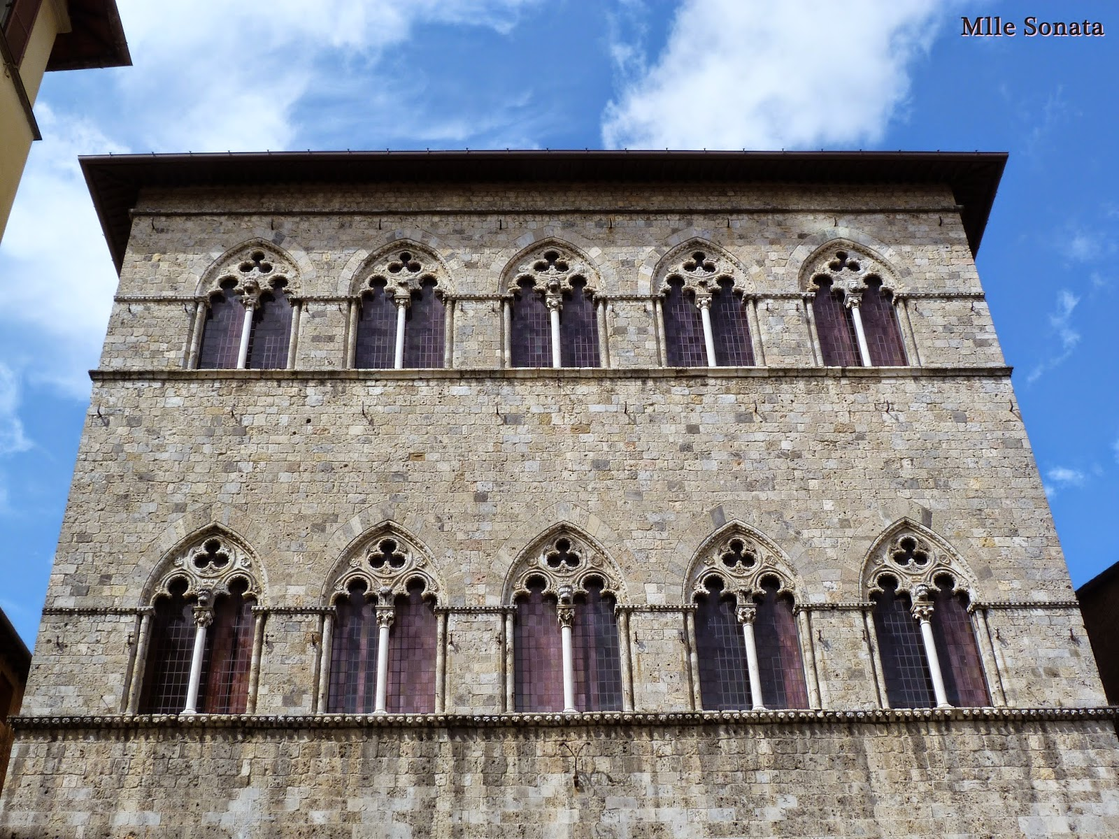 Voyage Italie Sienne Palais Tolomei