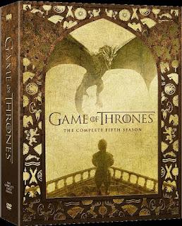 Game of Thrones Season 5 DVD cover