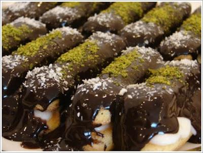 حلويات, بسكويت, شوكولا, حلويات مغربية, بسكويت بالشوكولا, بيسطاش